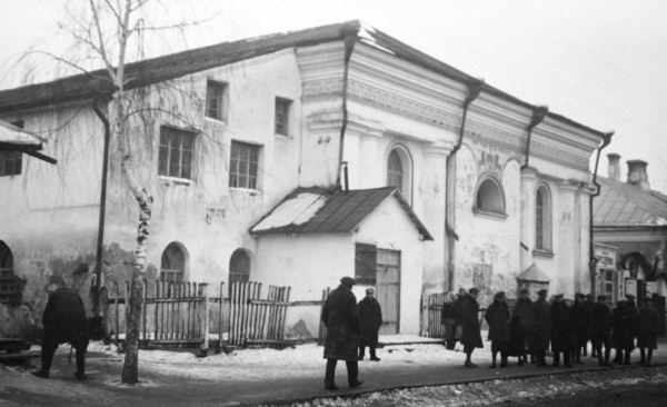 Berezne city, synagogue