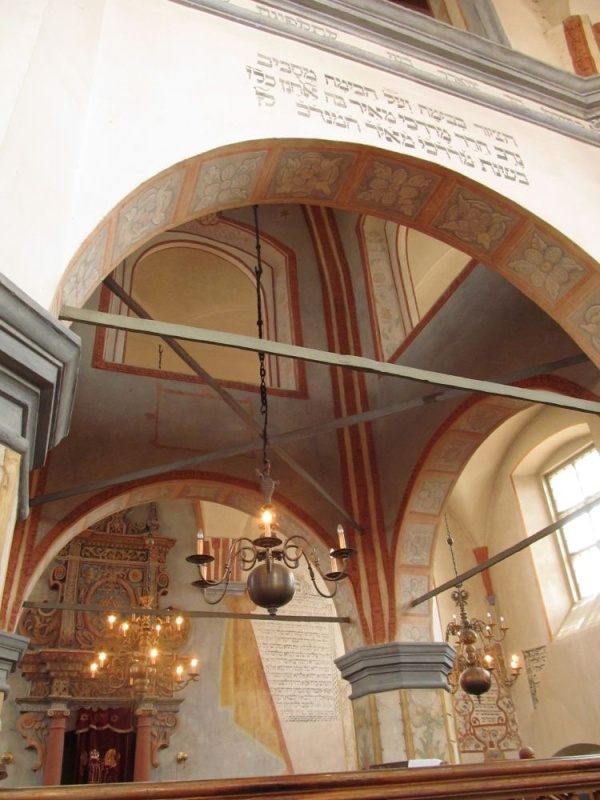 Great Synagogue in Tykocin from the inside