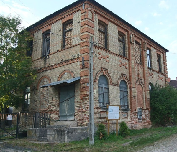 The Slonim Hasidim Synagogue in Krynki