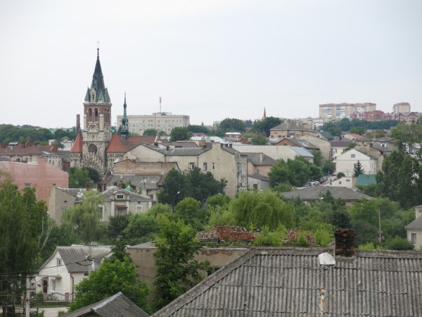 Chortkiv, general view over the city
