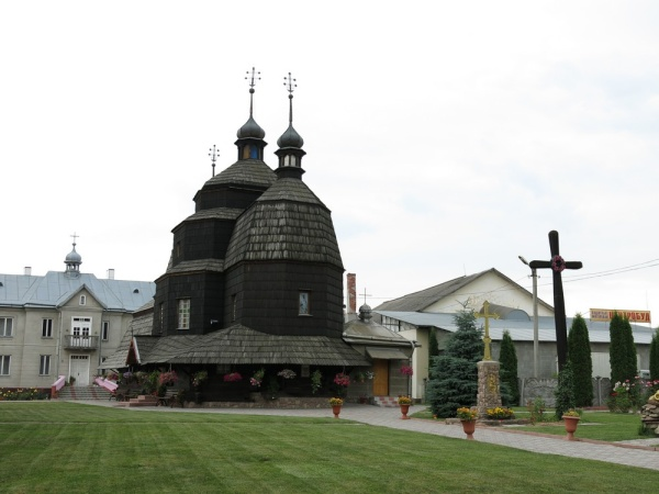 Chortkiv, wooden Orthodox Church of the Ascension