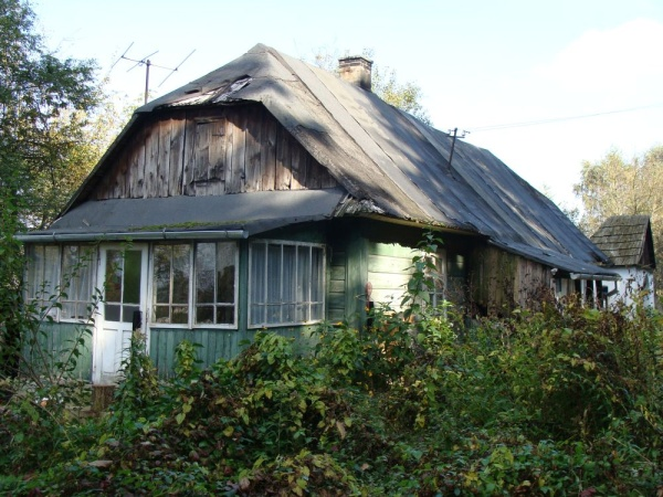 Old wooden house in Kazimierz Dolny