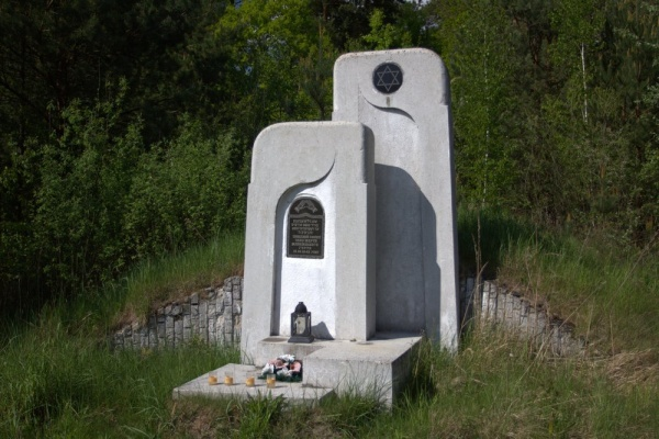 Zhovkva, place of mass executions of Jews