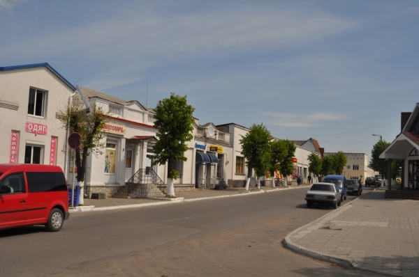 Liuboml, center of the city