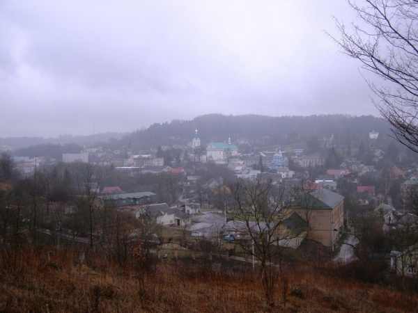 Kremenets, view of the city