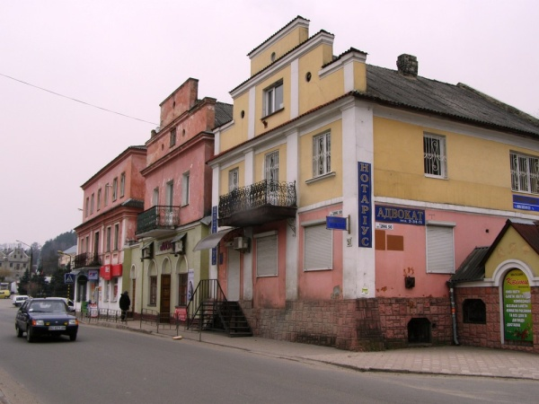 Kremenets, old buildings