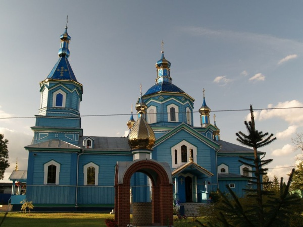 Orthodox church of Nativity of the Theotokos in Liuboml