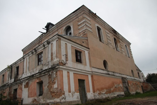 The Great Synagogue in Dubno, built between 1782 and 1784