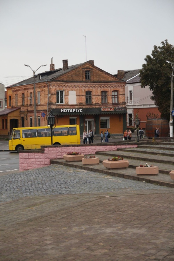Centre of Dubno