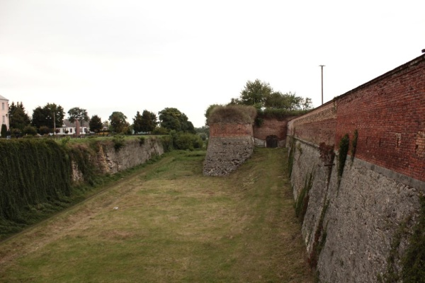 Fortification wall and ditch of Dubno castle