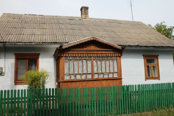 Pre-war house at Kostelna street in Berezne