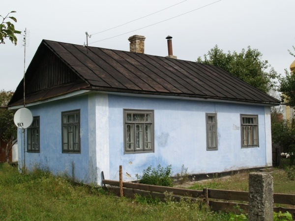 Pre-war building in Berezne