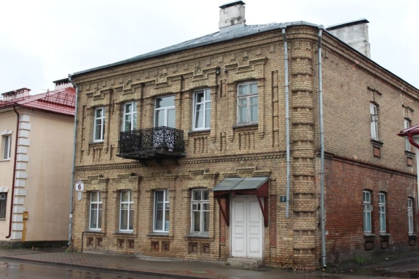 Pre-war buildings in Kobryn