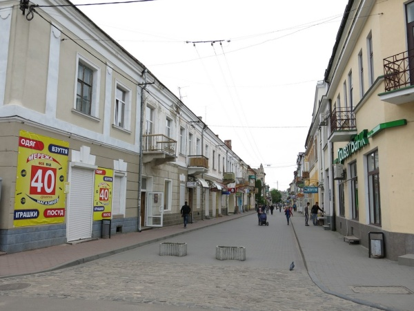 Brody, the former Jewish street
