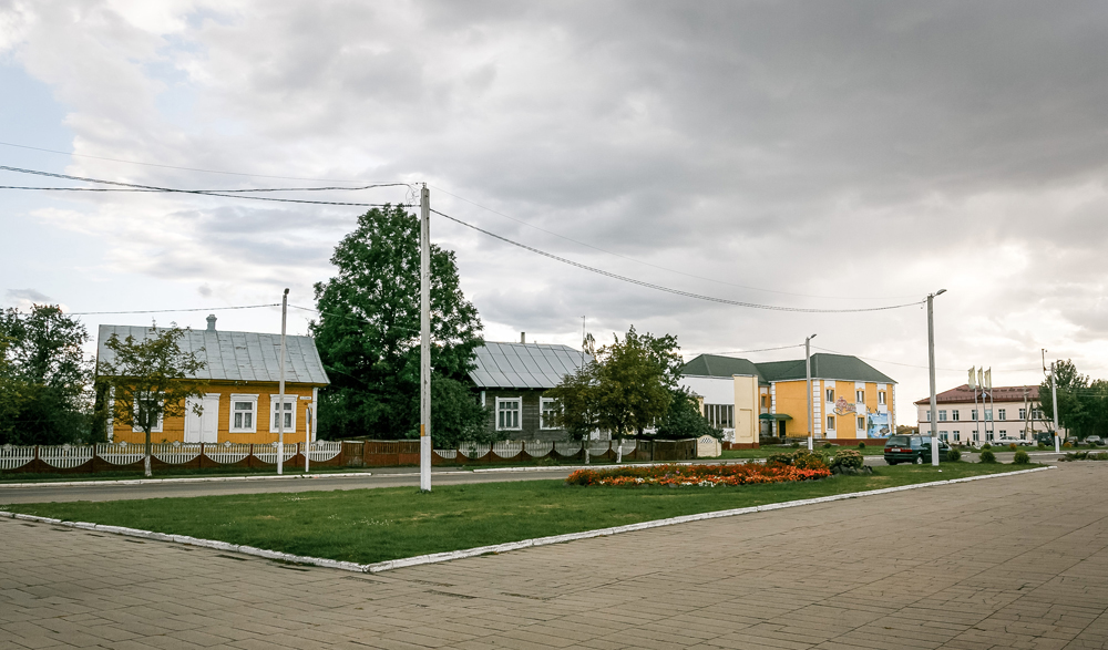 Lenin square in Motal
