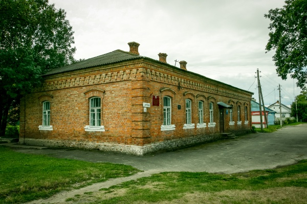 Museum of local history in Davyd-Haradok situated in former school building (1908)