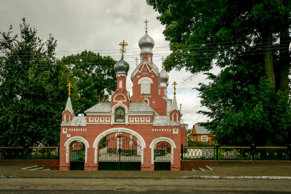 Orthodox church of the Holy Mother of Kazan in Davyd-Haradok (1913)