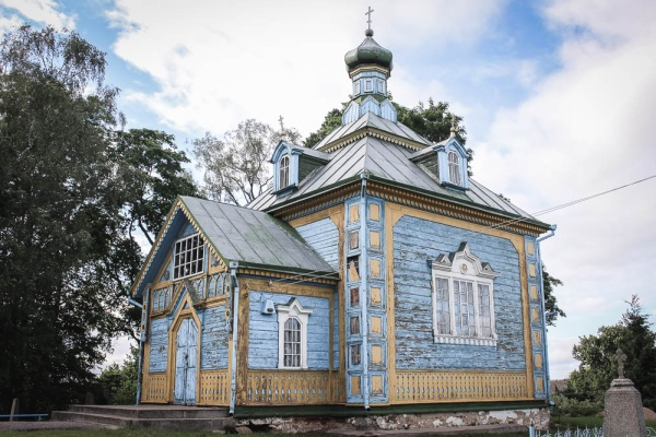 The Elevation of the Holy Cross orthodox church in Haradzishcha (1764)
