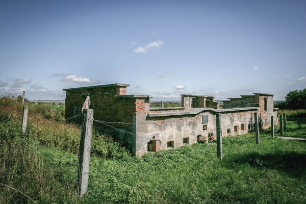Remains of the Kaldichevo concentration camp (1942-1944)