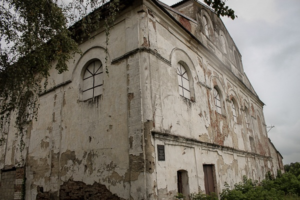 The synagogue in Kobryn