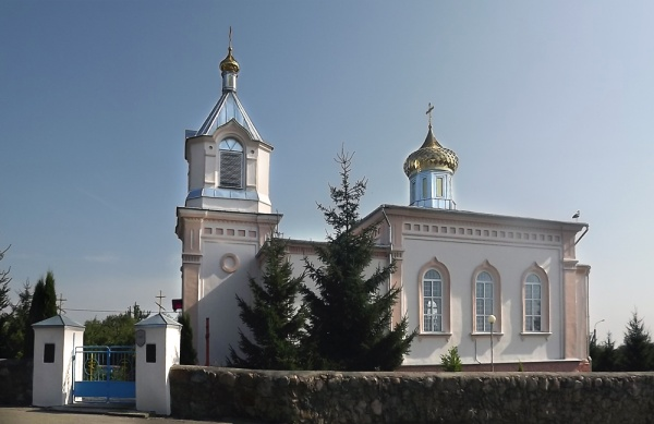 Alexander Newsky orthodox church in Indura (1881)