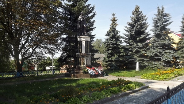 Monument to the fallen soldiers in Indura