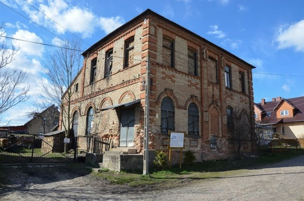 Krynki, the synagogue of Slonim Hassids