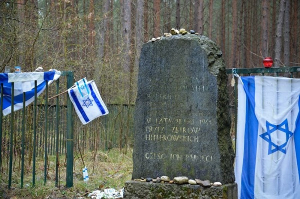 The Łopuchowo Forest - the place of execution and burial of Tykocin Jews