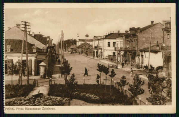 Pinsk - Cultural Heritage Card